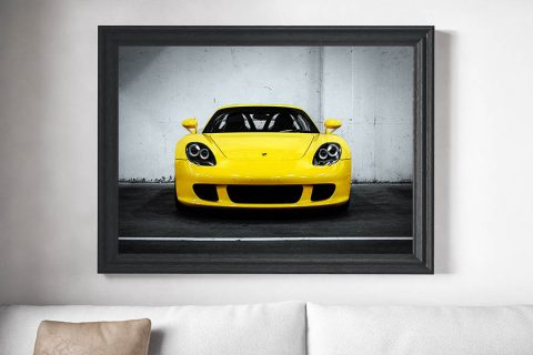 Voiture des Sport Tableau – Carrera GT