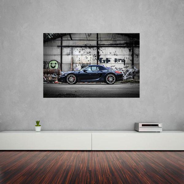 Toiles voiture de course Porsche