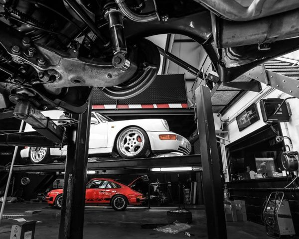 Photographie Porsche 993 3.8 Carrera RS