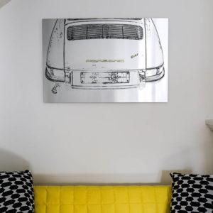 Tableau Art Porsche 911 Classic