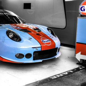 Photo Murale Porsche Gulf