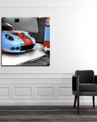 Photos Murales Porsche Gulf