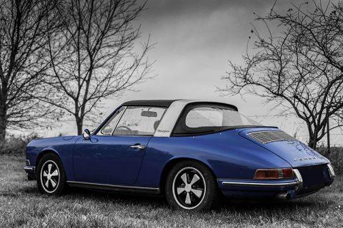 Tableau Photo Porsche Targa Soft Window