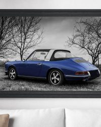 Tableaux Photos Porsche Targa Soft Window