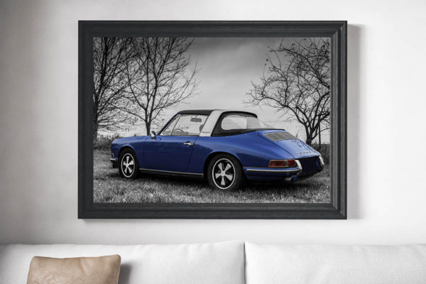 Tableaux Photos Porsche Targa Soft Window