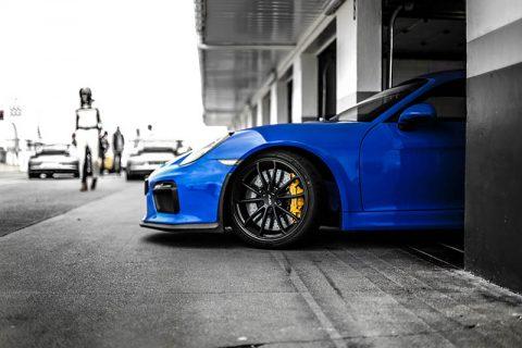 Photographie Porsche Cayman GT4