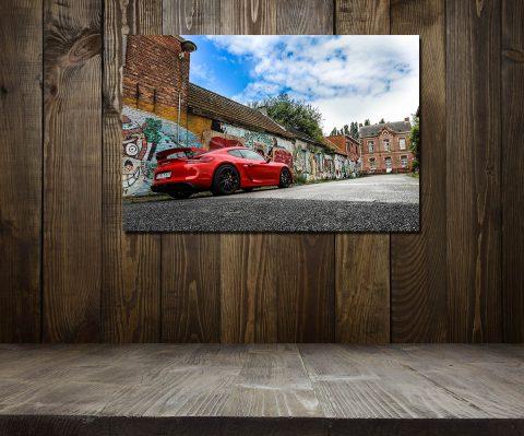 Tableau Voitures de Sport Porsche GT4
