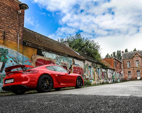 Tableaux Voiture de Sport Porsche GT4