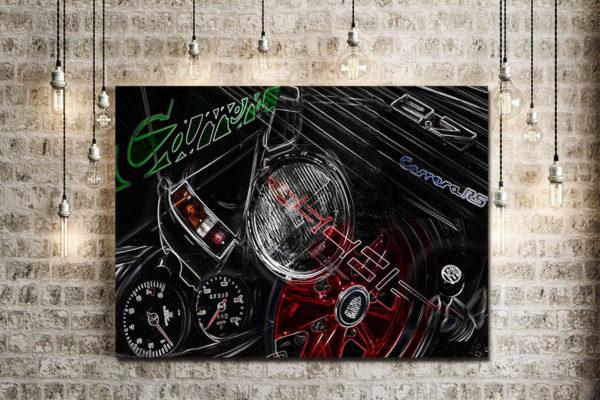 Arts Automobile Porsche Carrera