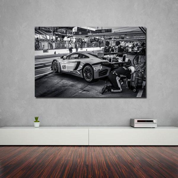 Tableaux Moderne Voiture McLaren