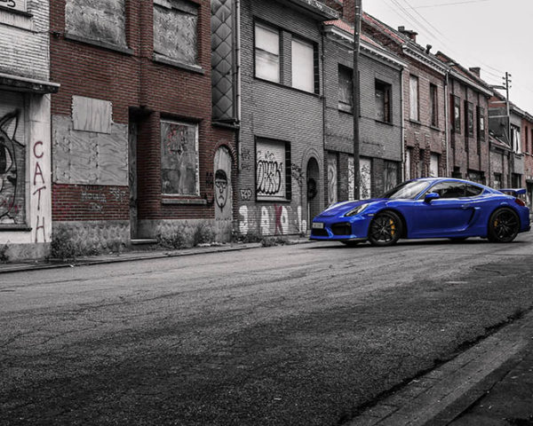 Photographie Cayman GT4