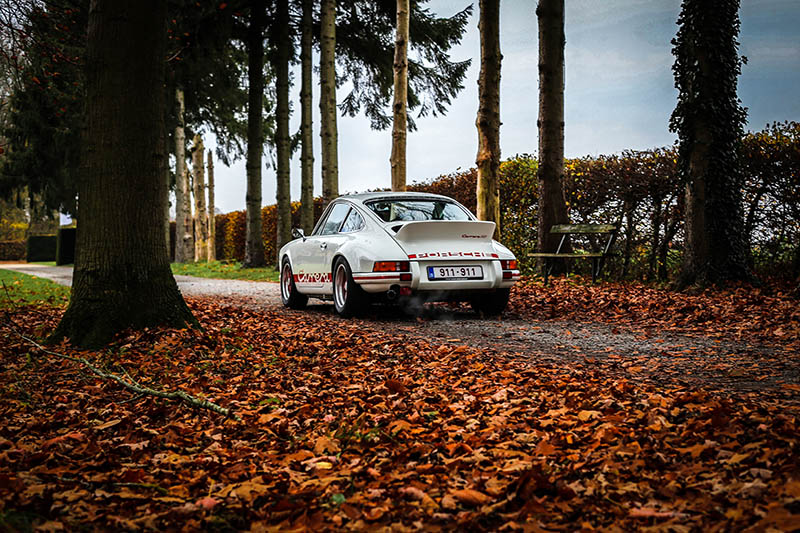 Photographie Porsche Carrera RS
