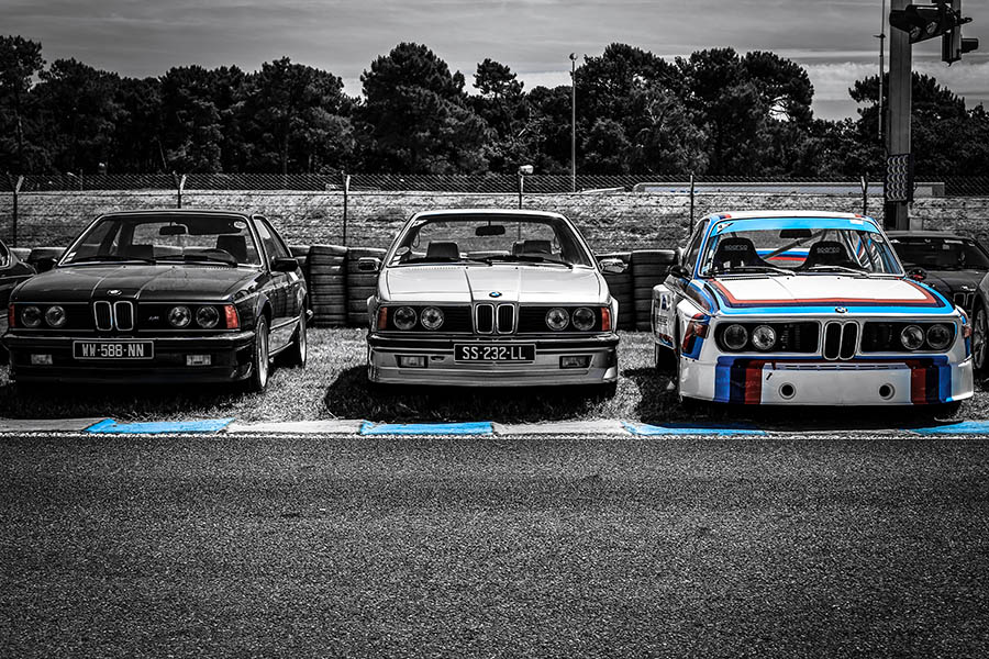 Photographie anciennes BMW
