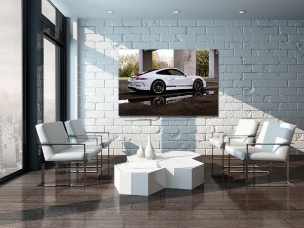 Photographie deco intérieur Porsche
