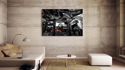 Photographie murale de Porsche