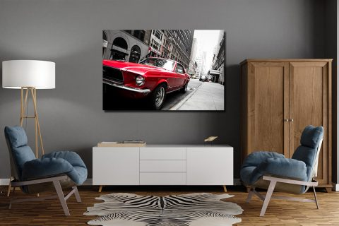 Photographies Ford Mustang à New York
