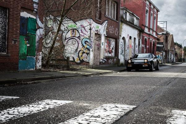 Photographie Porsche 944 Ville Fantôme