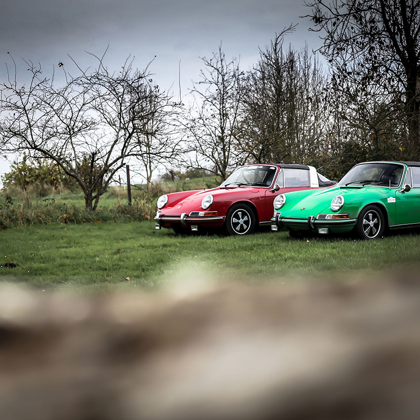 Photographie de Porsche Targa