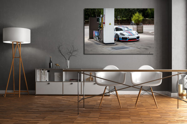 Photographies Porsche Cayman GT4 Martini