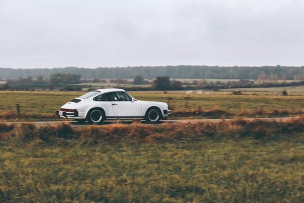 Photo de Porsche 911 Blanche