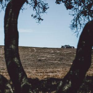 Photographie Porsche et Paysage