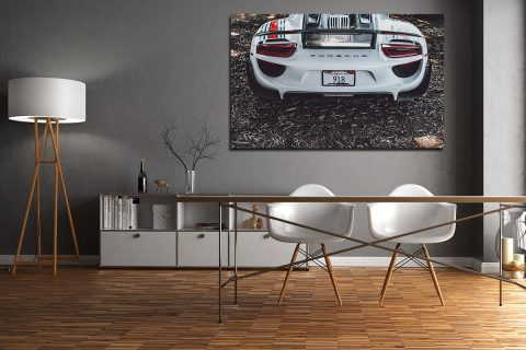 Photographies Porsche 918 Martini