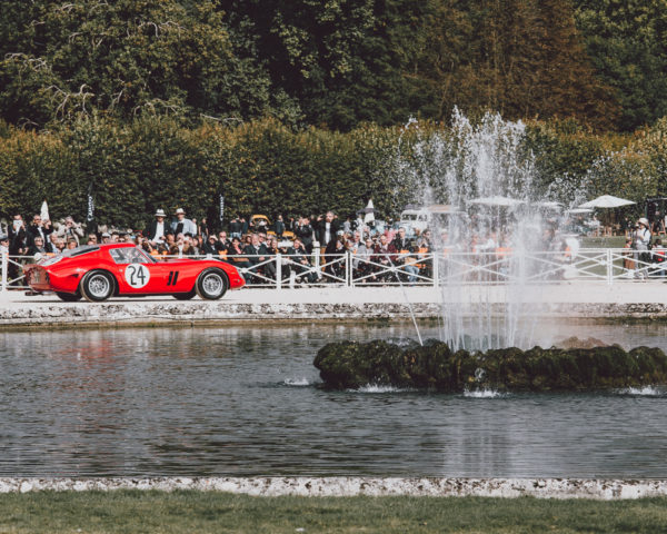 Photo Ferrari 250 GTO à Chantilly