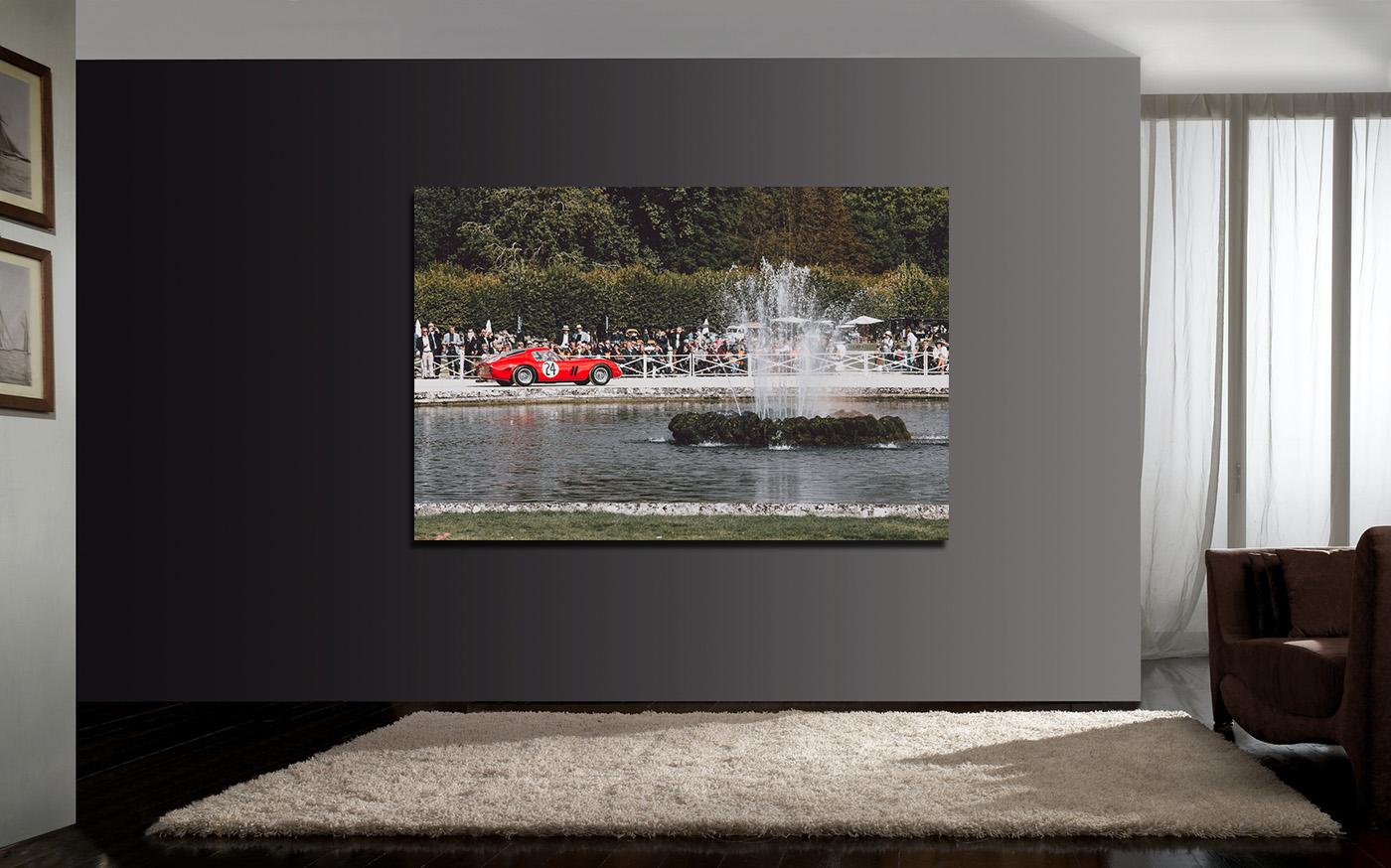 Photos Ferrari 250 GTO à Chantilly