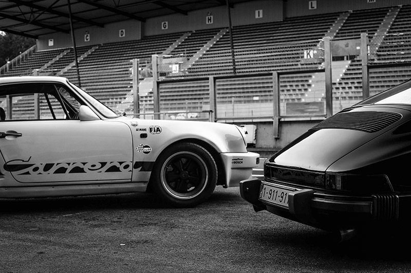 Photographie Noir et Blanc Porsche 911