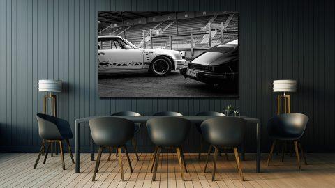 Photographies Noir et Blanc Porsche 911