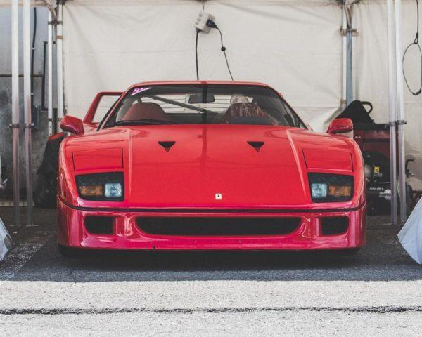Photographie Ferrari F40