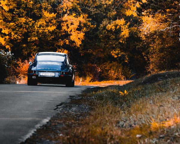 Photo Porsche 911 Autumn Tones