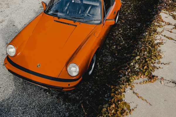 Photo Vintage Porsche Targa