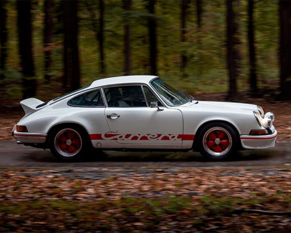 Photo ancêtre porsche carrera rs