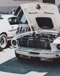 Photographie Ford Mustang de Course