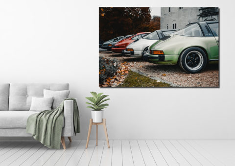 Photographie Lignée de Porsche