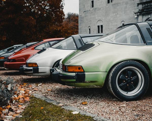 Photographies Lignée de Porsche