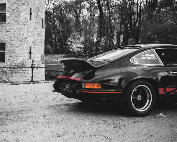 Photo Vieille Porsche Carrera RS
