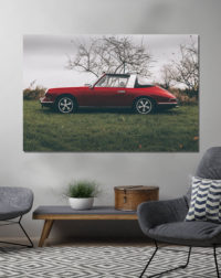 Photographies Porsche Targa Rouge