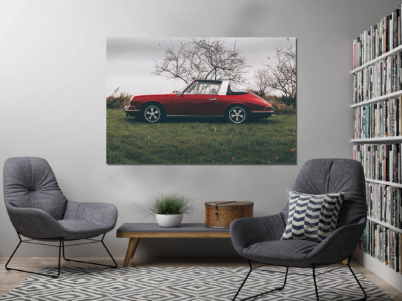 Photographies Porsche Targa Rouge