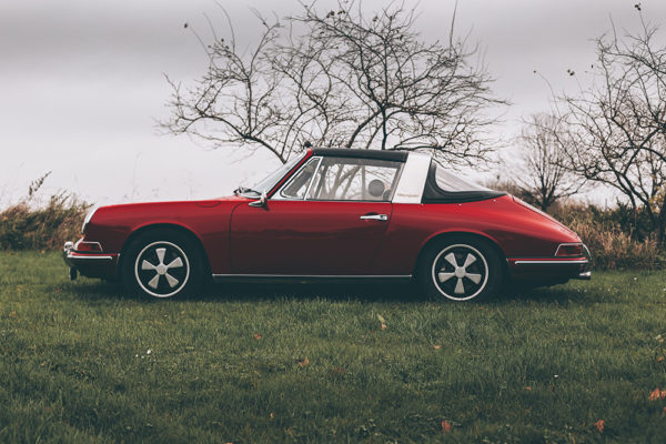 Photographie Porsche Targa Rouge