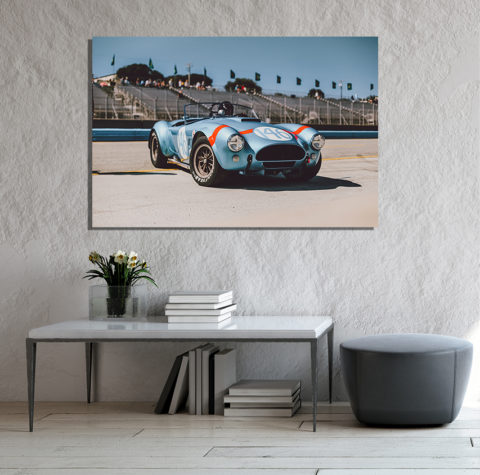 Photographies AC Cobra au Laguna Seca