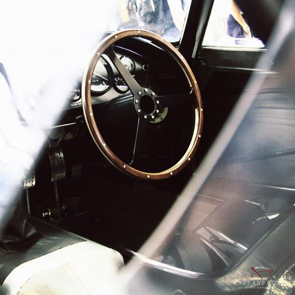 Aston Martin DB3 INTERIOR