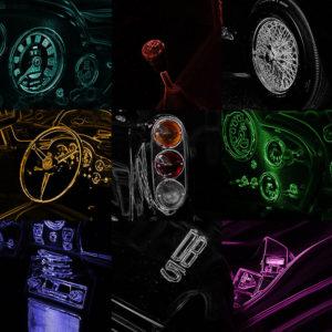 Aston Martin DB5 Pop Art