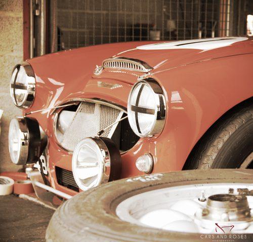 Austin Healey #15 Sepia Edition