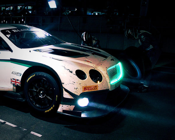 Bentley GT3 at Night