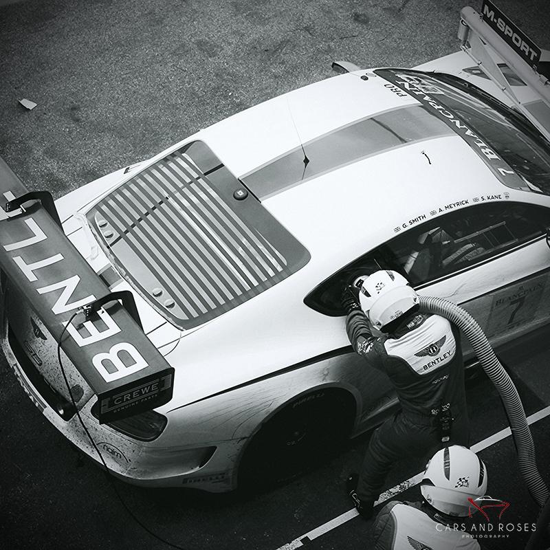 Bentley GT3 Refueling