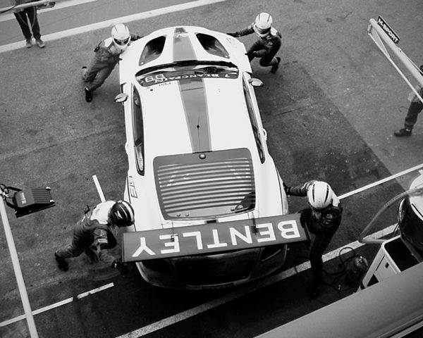 Bentley GT3 and The Team