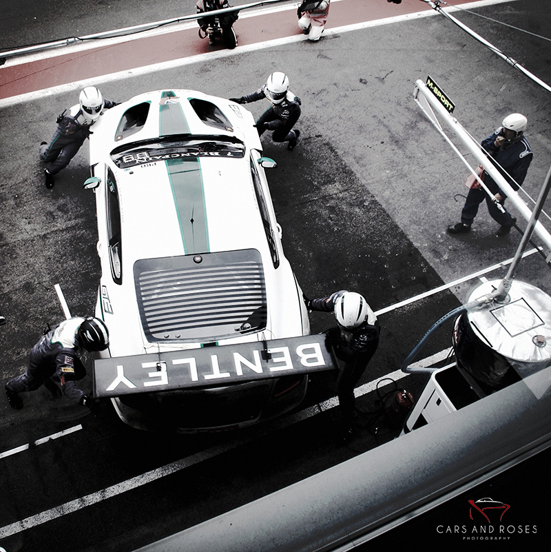 Bentley GT3 & Staff