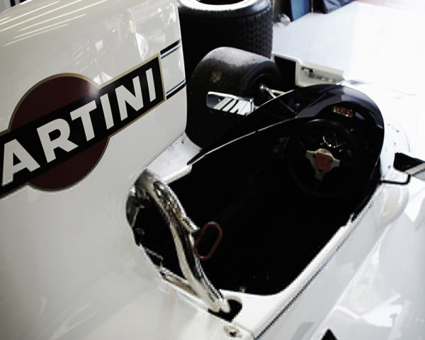 Brabham F1 Martini Racing Cockpit